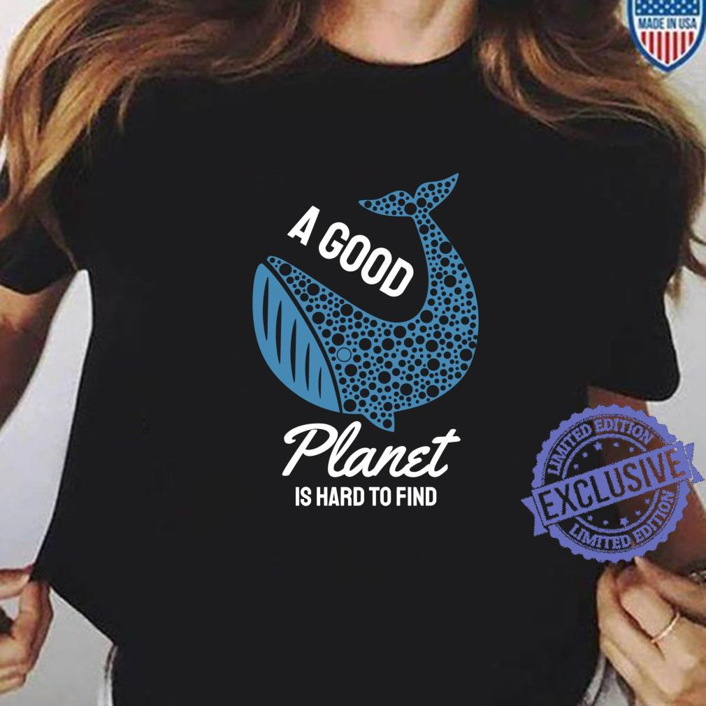 Save The Whales Ocean Conservation Shirt ladies tee