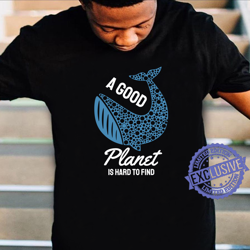 Save The Whales Ocean Conservation Shirt