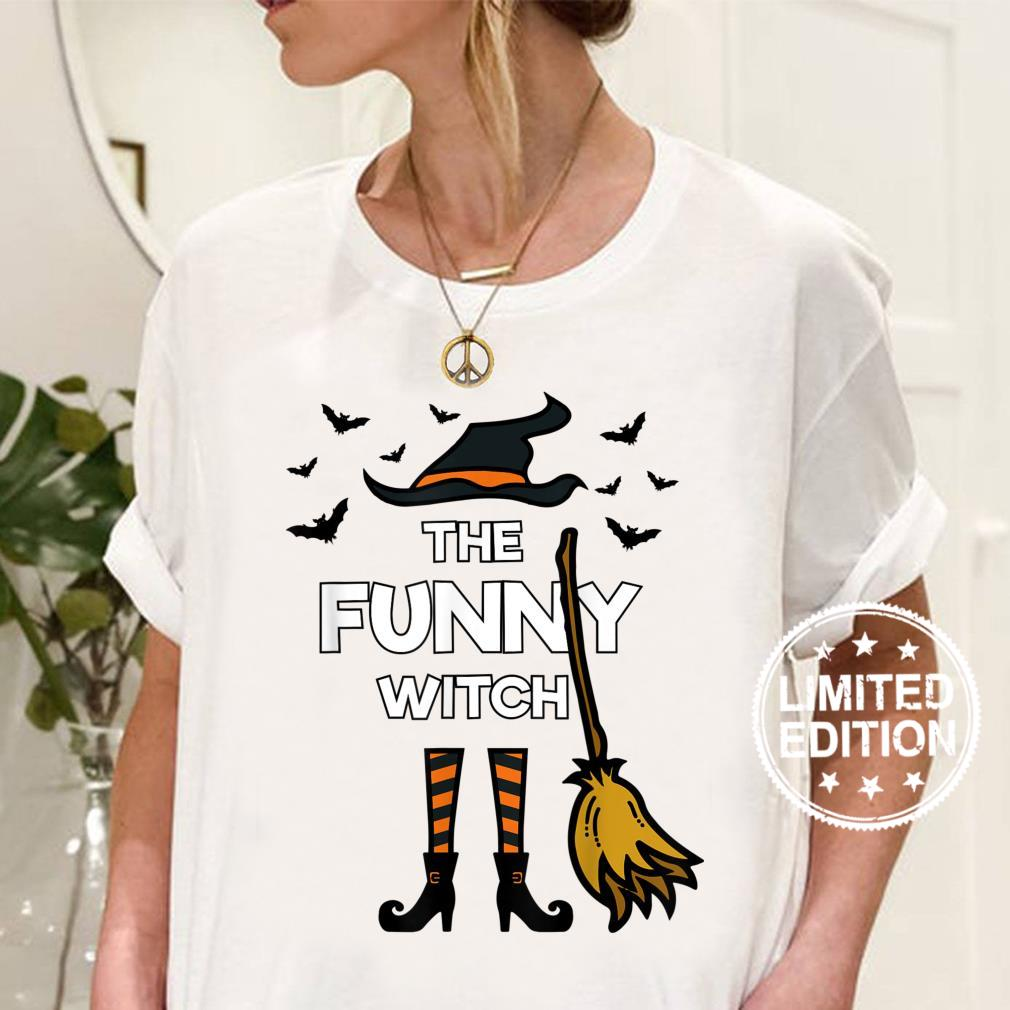 The Witch, Matching Family Halloween Party Costume Shirt