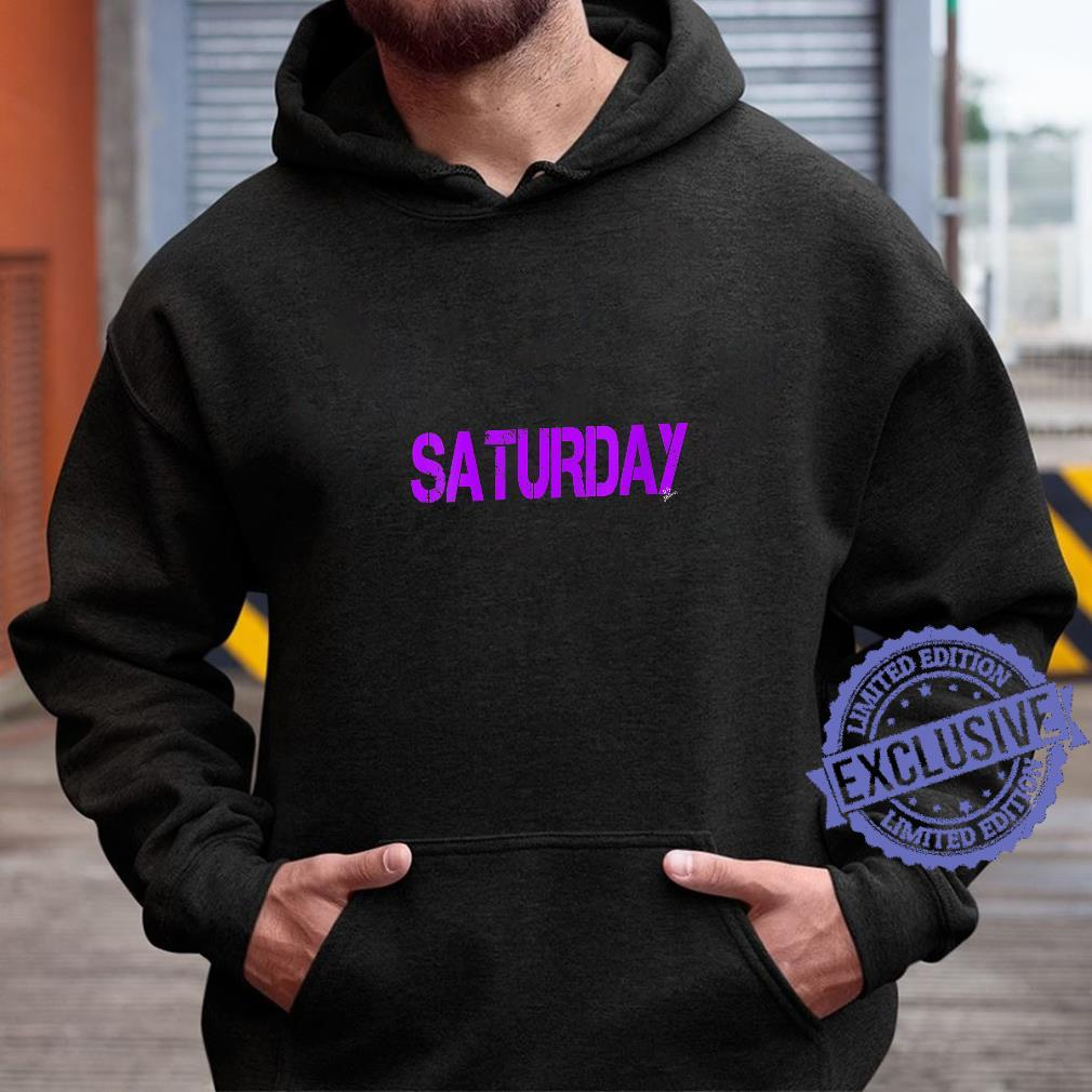 Womens Saturday Outfit weekday asberger help Autism awareness Shirt hoodie