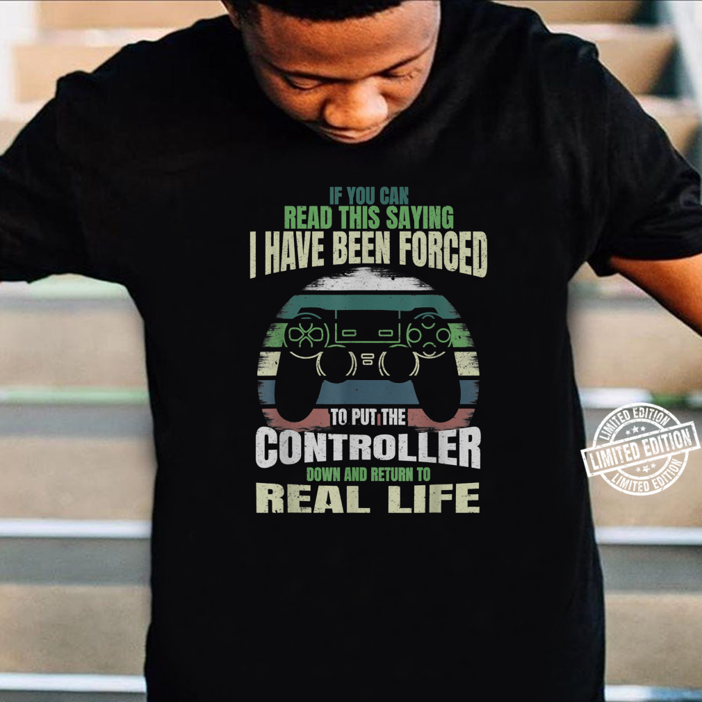 If You Can Read This Saying Nerdy Gamer Gaming Shirt