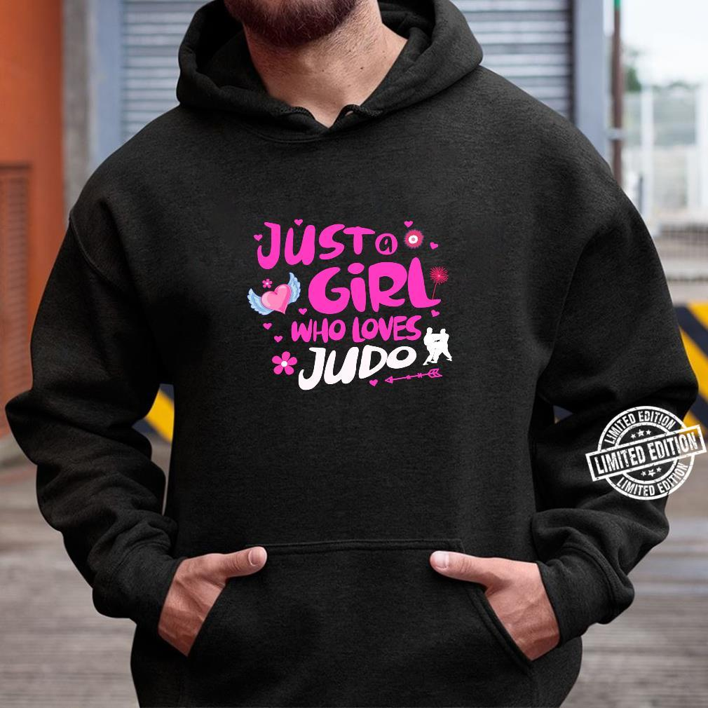 Just a Girl Who Loves Judo Shirt hoodie