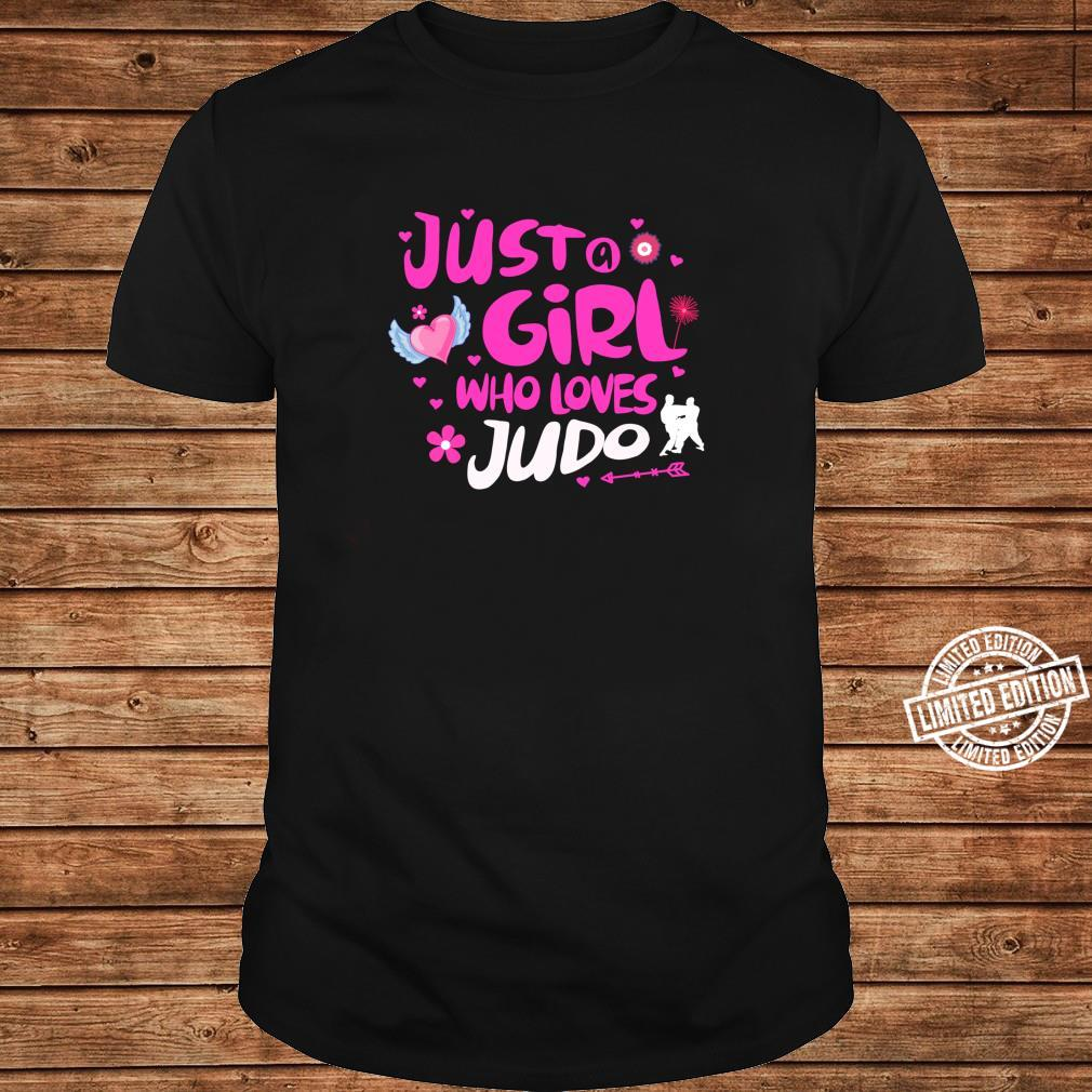Just a Girl Who Loves Judo Shirt long sleeved